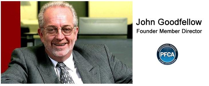 John Goodfellow • PFCA Founder Member Director <br>Thank you!