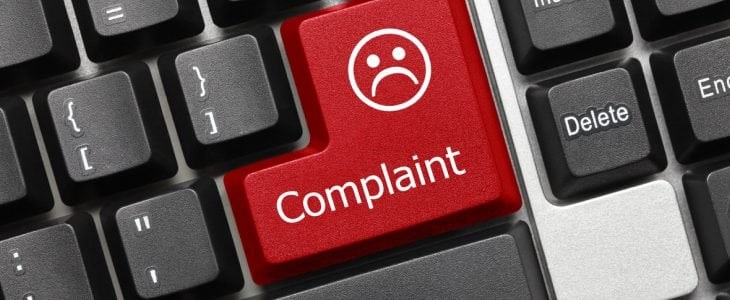 PPI FOS complaint data shows 5 major firms still over 75%
